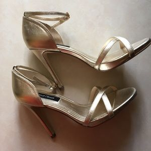 White House Black Market Evelia heels